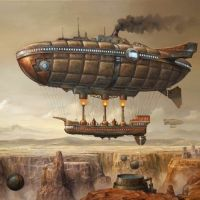 Steampunk Skyships