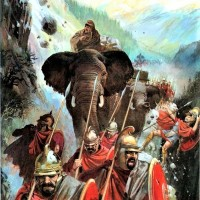 Hannibal's Crossing the Alps